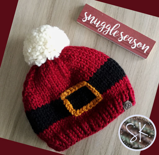 Santa Claus Knit Hat
