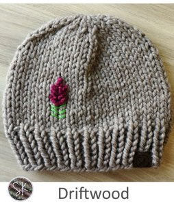 Fireweed Chunky Hats in Driftwood